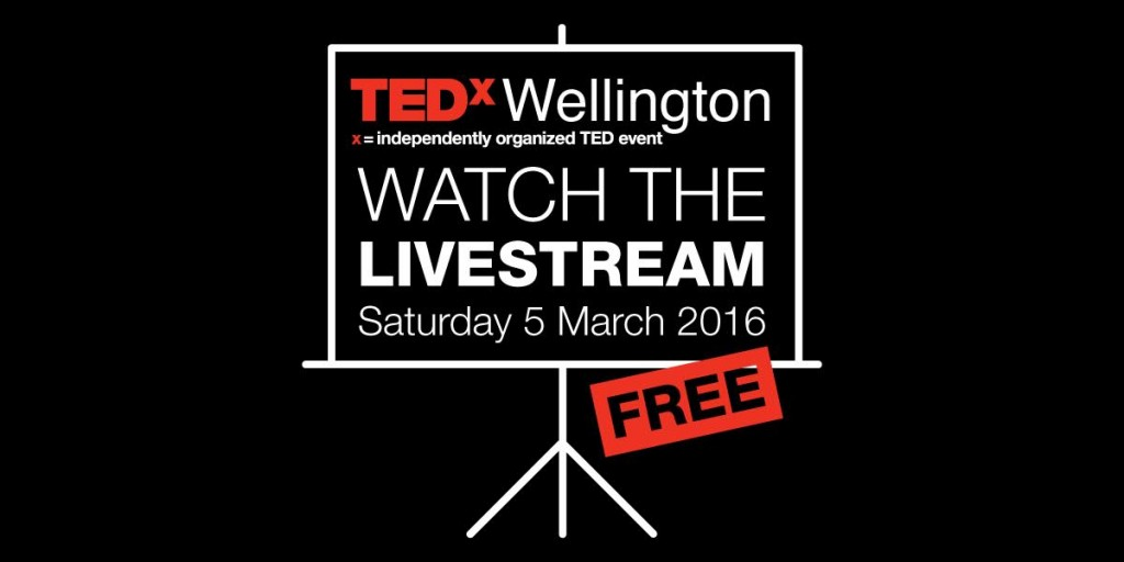 TEDxWellington livestream events