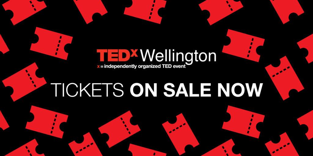 TEDxWellington tickets on sale now