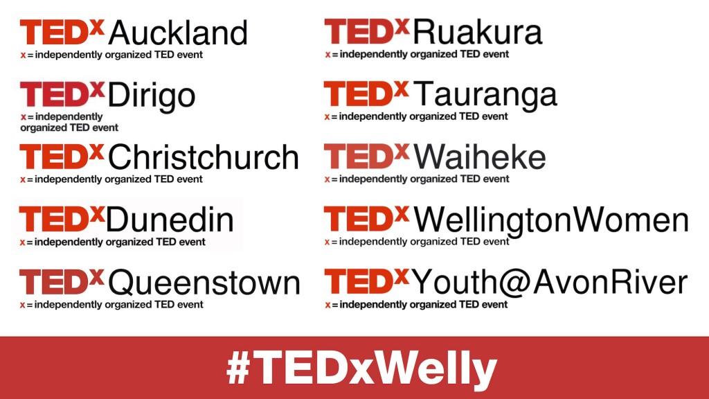 TEDxWellington-TEDxs
