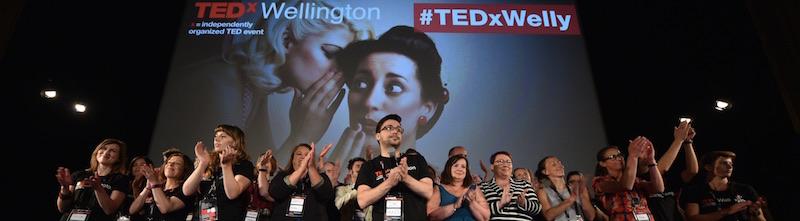 TEDxWellington claps
