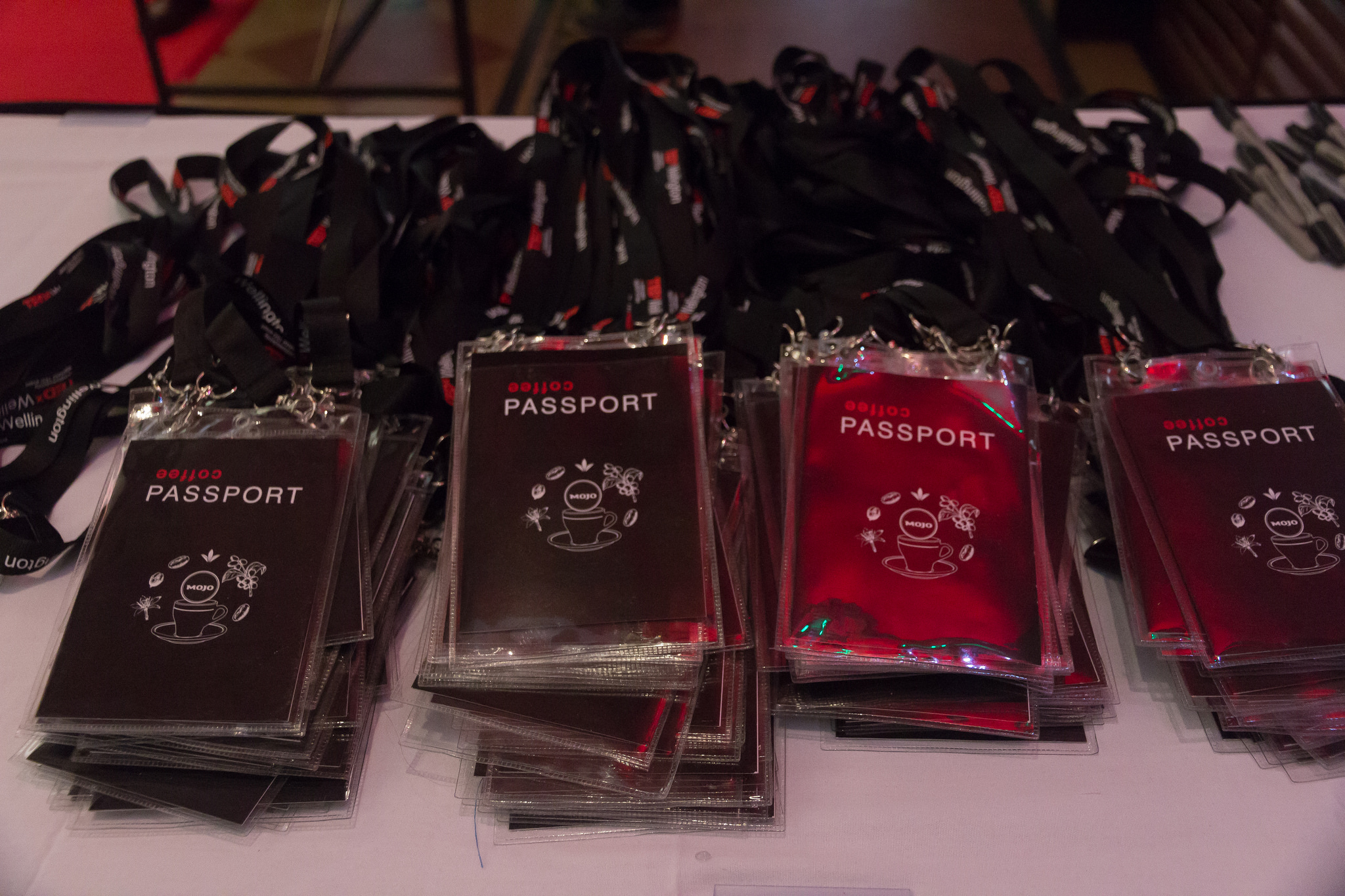 TEDxWelly 2017 Coffee Passports
